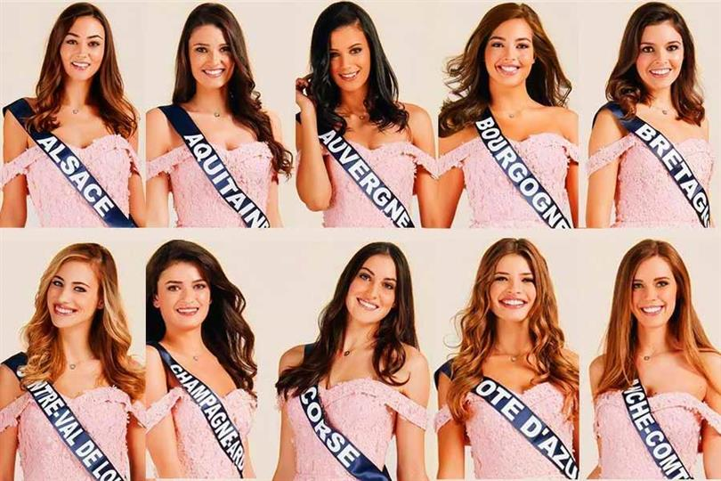 Miss France 2020 Meet the Contestants