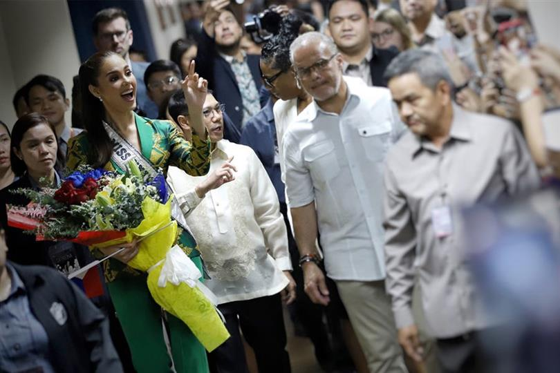 Catriona Gray gets honoured in the Senate of the Philippines