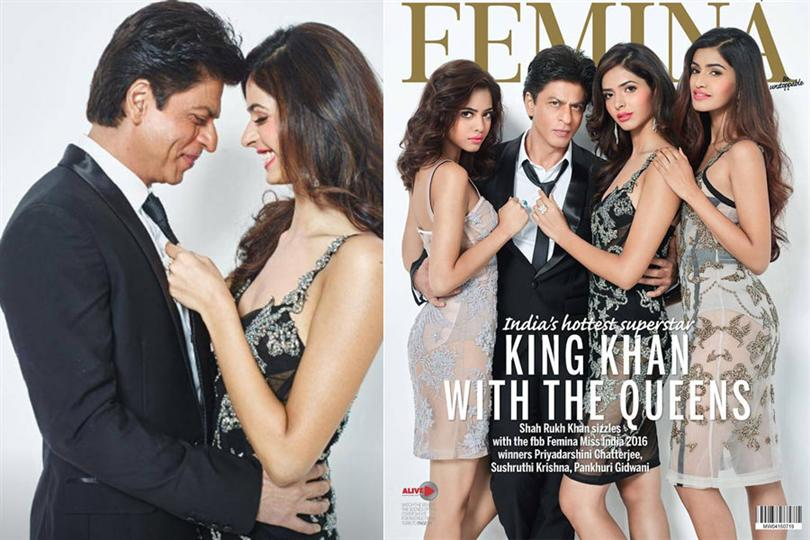 Femina issues its latest cover with the winners of Miss India 2016