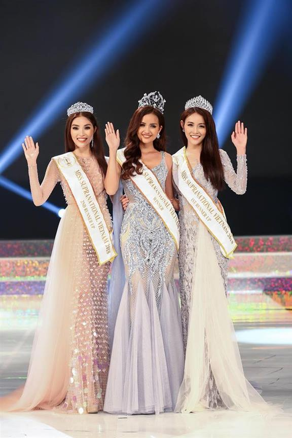 Nguy?n Th? Ng?c Châu crowned Miss Supranational Vietnam 2018