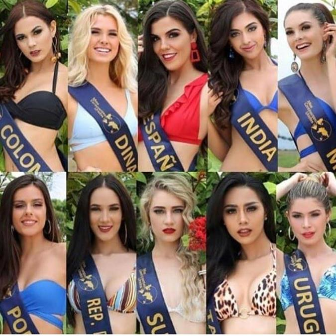 Andrea Sáenz Castillo crowned Miss United Continents 2018