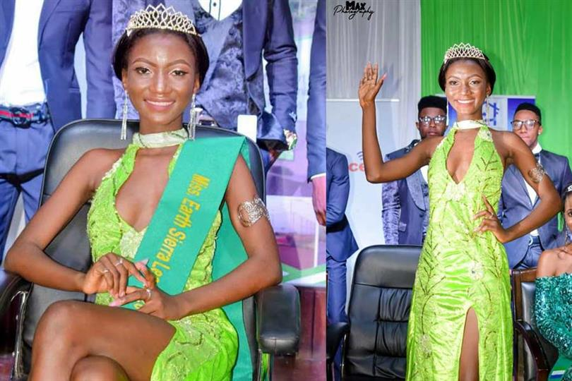 Alma Nancy Sesay crowned Miss Earth Sierra Leone 2018