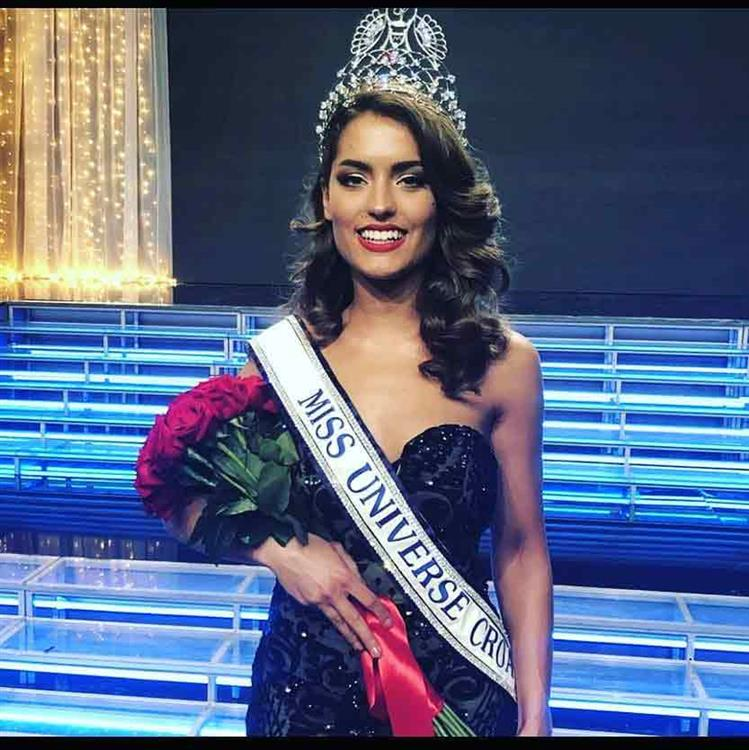 Mia Rkman from Korcula crowned Miss Universe Croatia 2019 for Miss Universe 2019
