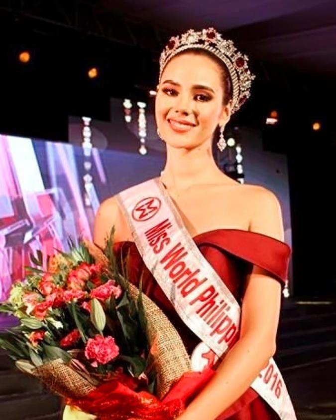 Catriona Elisa Magnayon Gray Miss World Philippines 2016 Winner