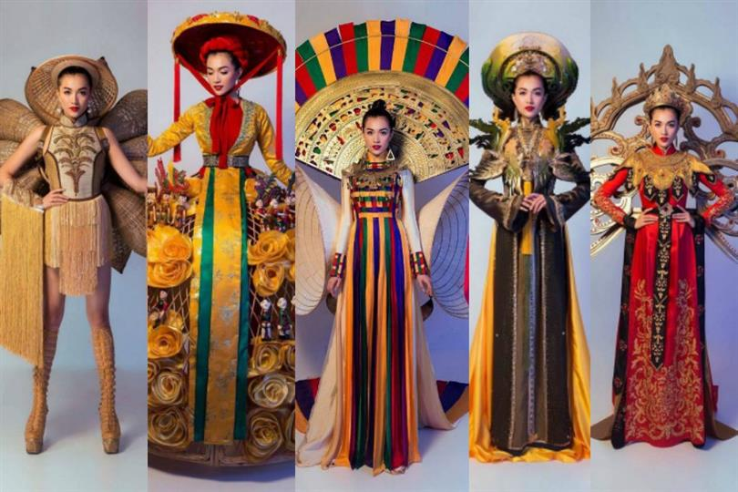 Vietnam gets to choose from various national costume designs