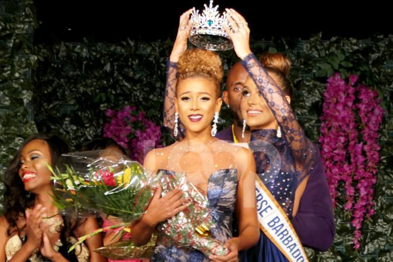 Lesley Chapman-Andrews crowned Miss Universe Barbados 2017