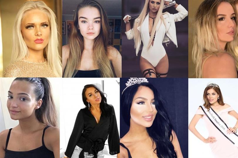 Miss Universe Sweden 2018 Meet the Contestants