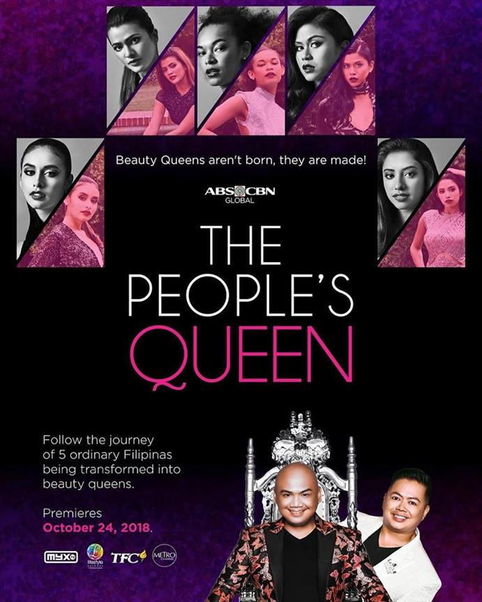 Five Filipinas embark on the quest for their crowns at The People's Queen Show