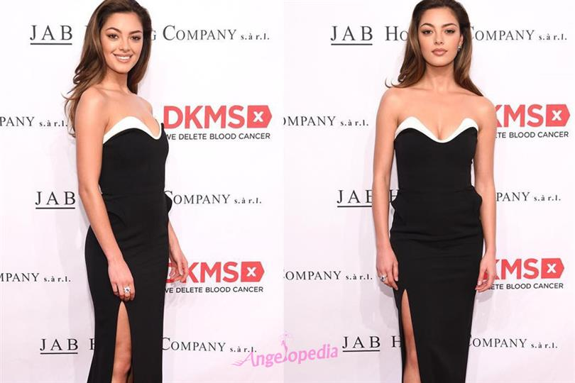 Demi-Leigh Nel-Peters shows support to DKMS