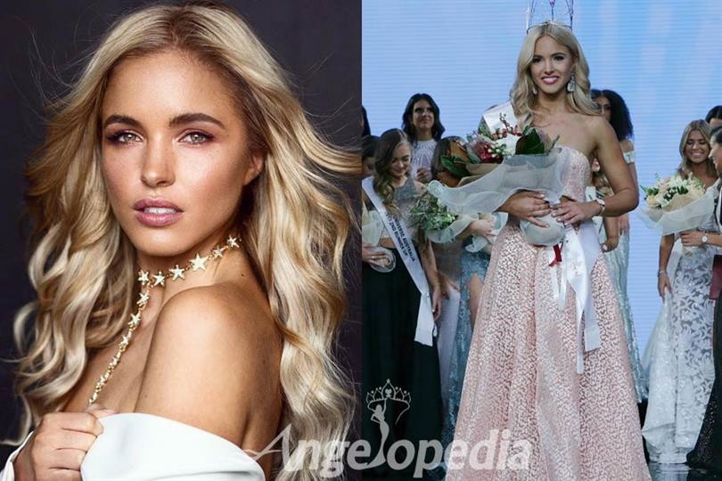 Olivia Molly Rogers Winner Miss Universe Australia 2017