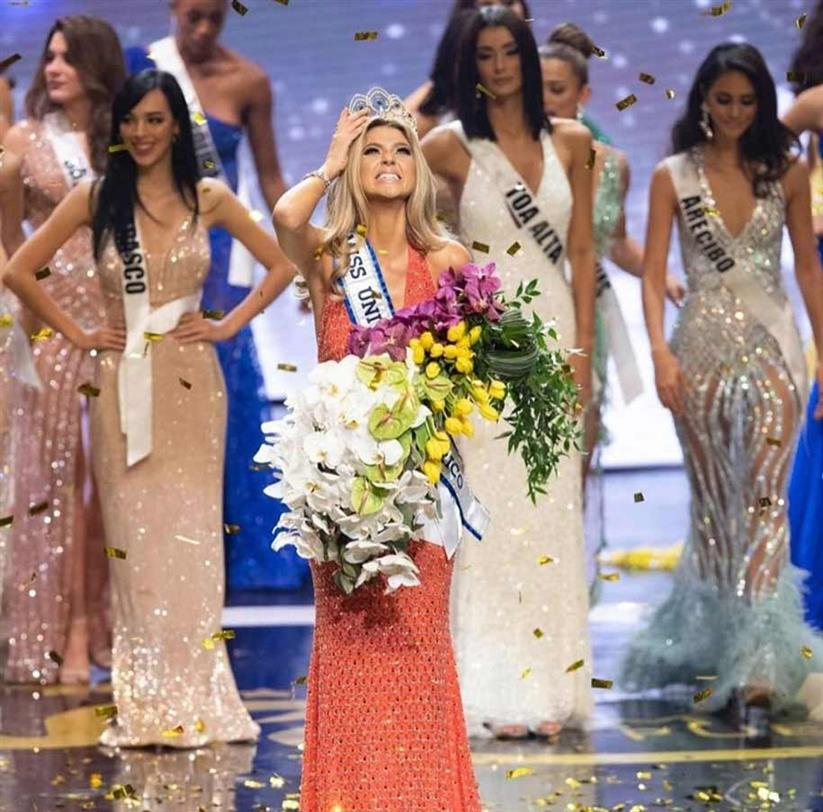 Madison Sara Anderson crowned Miss Universe Puerto Rico 2019