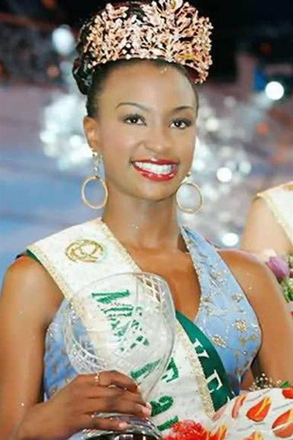 How Kenya's Winfred Adah Omwakwe became the first black woman to win Miss Earth crown