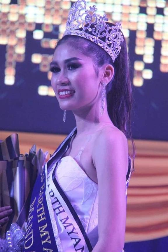 May Thadar Kho crowned Miss Earth Myanmar 2019