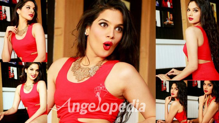 Tanya Hope Miss India Kolkata 2015 Moods and Expressions