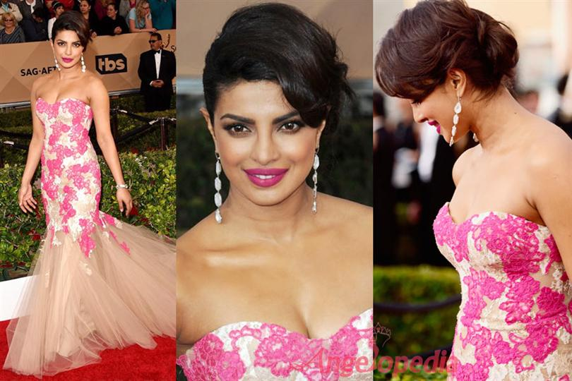 Priyanka Chopra Miss World 2000 On Oscar Stage As Presenter