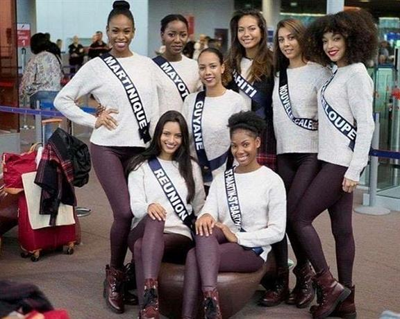 Miss France 2019 delegates' journey begins as they arrive in Mauritius