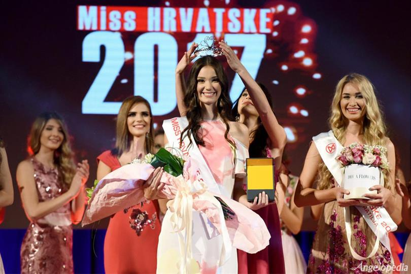Tea Mlinaric crowned Miss World Croatia 2017