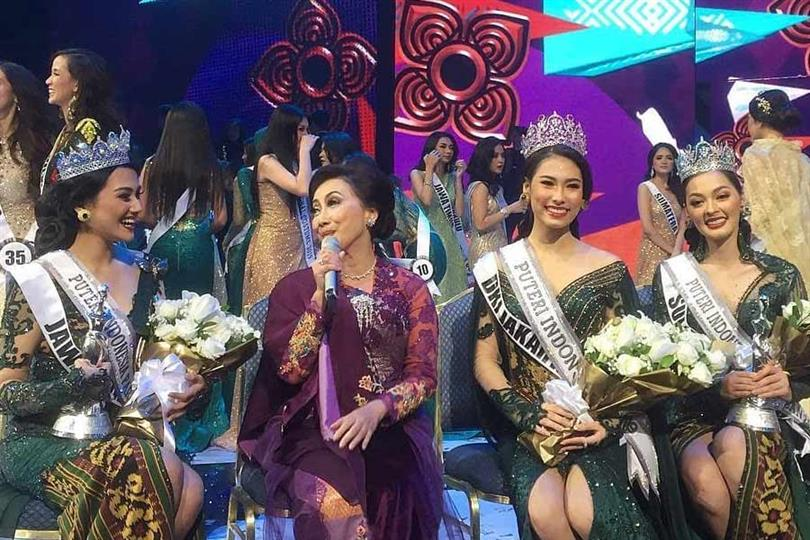 Jesica Fitriana Martasari crowned Puteri Indonesia Pariwisata2019 aka Miss Supranational Indonesia 2019