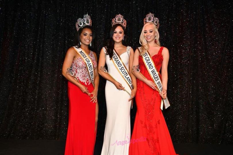 Olivia McPike crowned Miss Grand Scotland 2018