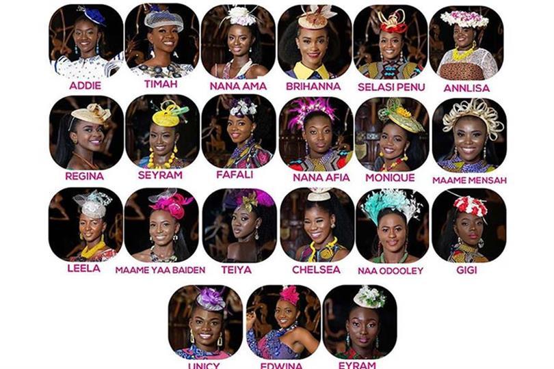 Miss Ghana 2020 Top 21 delegates announced