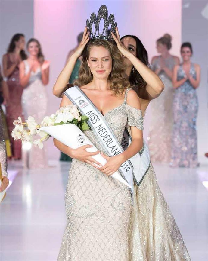 Sharon Pieksma crowned Miss Netherlands 2019
