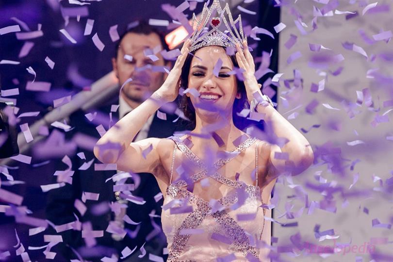 Jastina Doreen Riederer crowned Miss Switzerland 2018