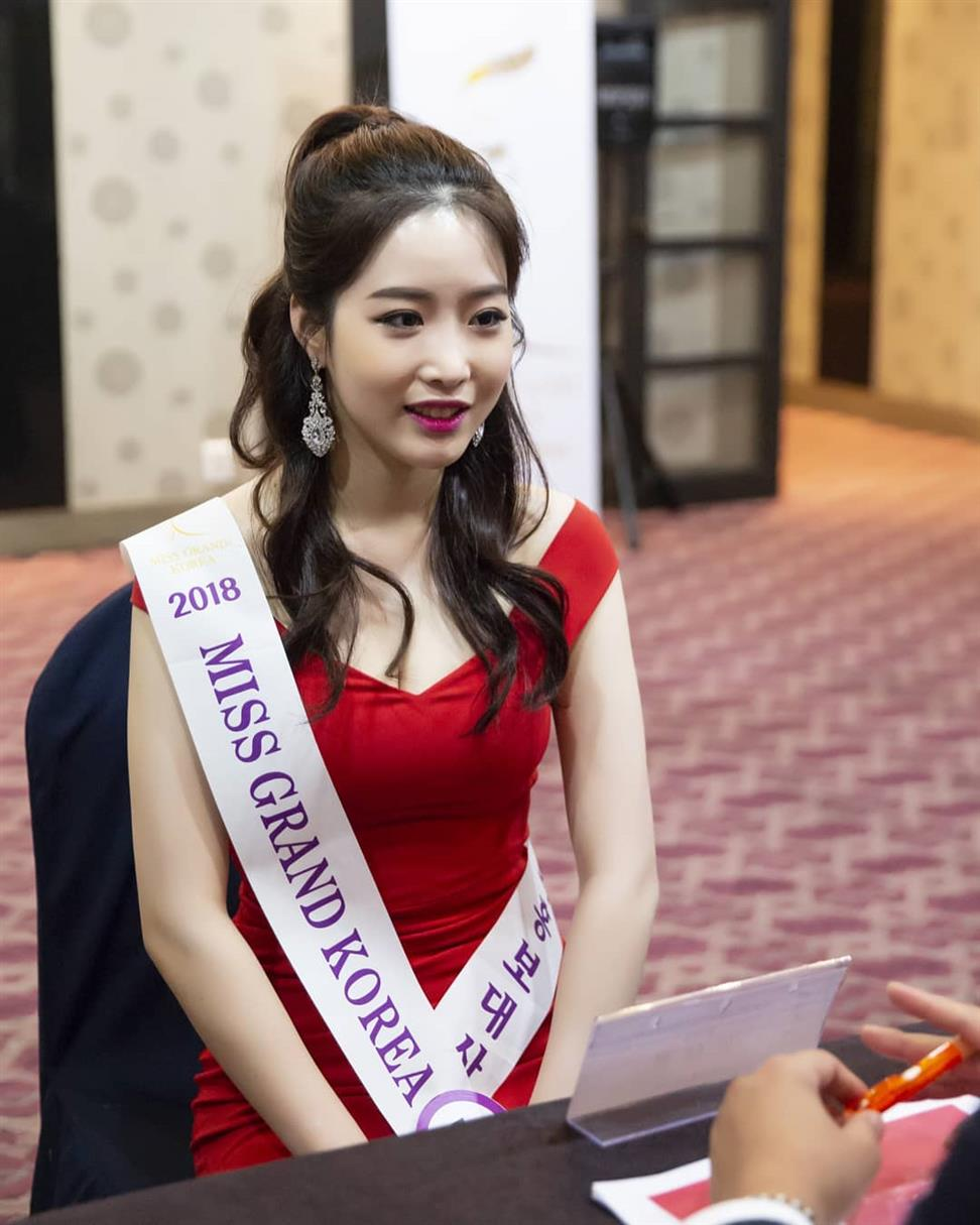 Miss Grand Korea 2018 Top 5 Hot Picks by Angelopedia