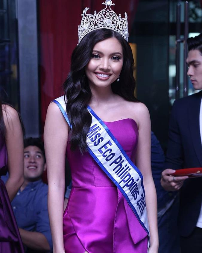 Philippines' Maureen Montagne's incredible performance in Miss Eco International 2019