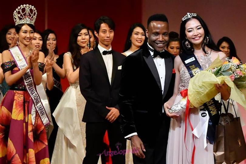Haruka Komagata crowned Miss United Continents Japan 2018