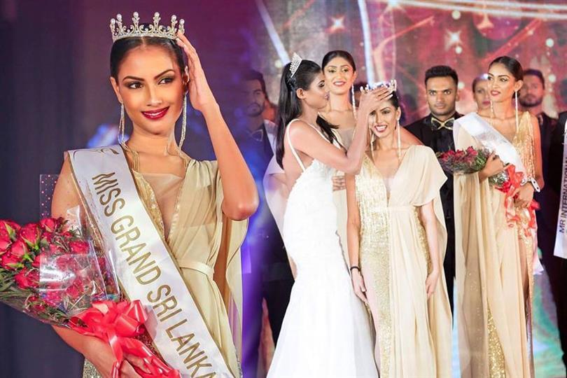 Pawani Vithanage crowned Miss Grand Sri Lanka 2018