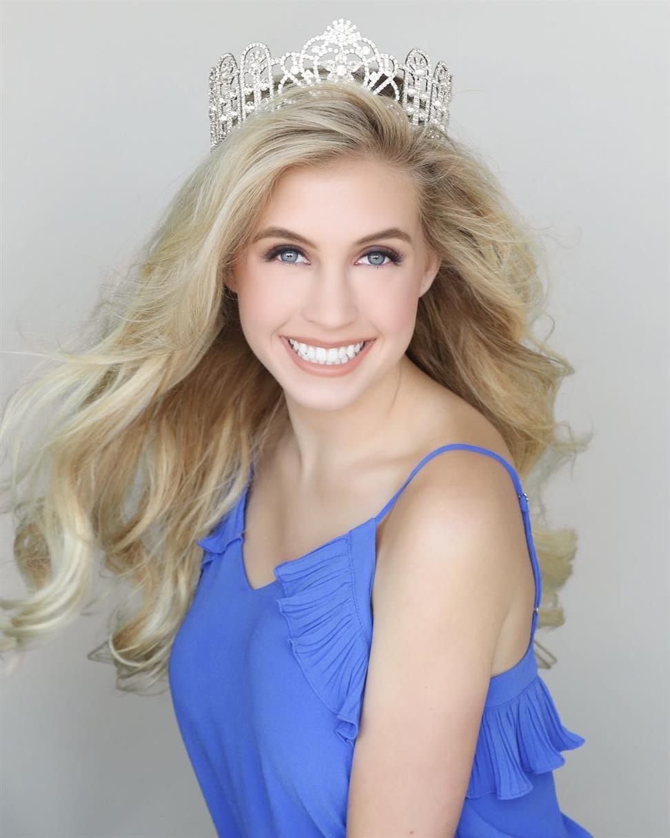 Megan Brewer Miss Montana Teen USA 2019, delegate of Miss Teen USA 2019