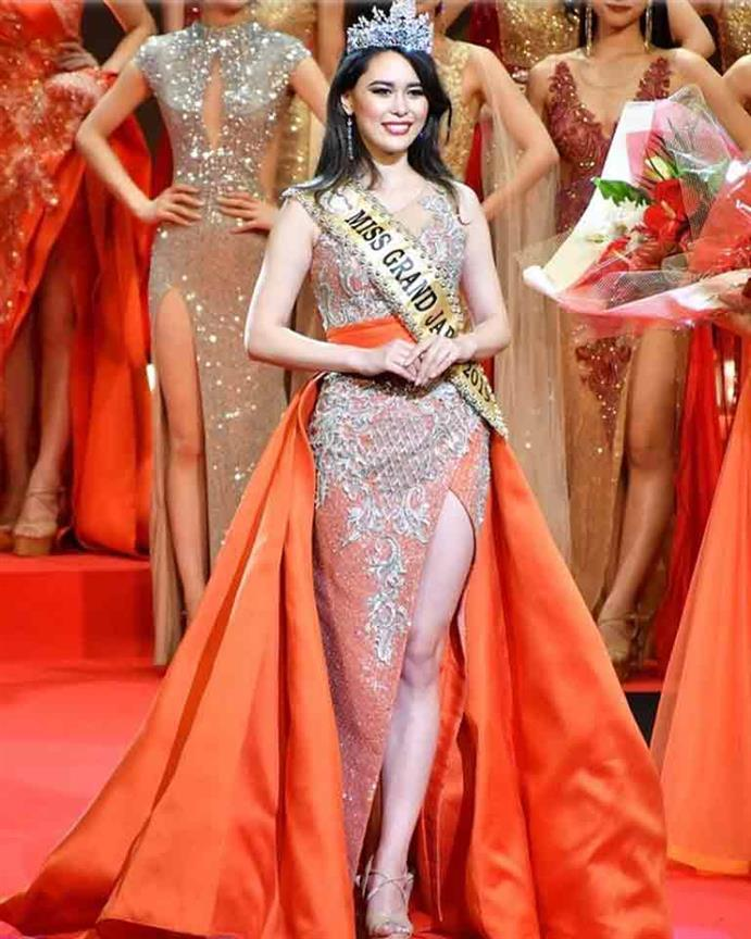 Adeline Minatoya crowned Miss Grand Japan 2019
