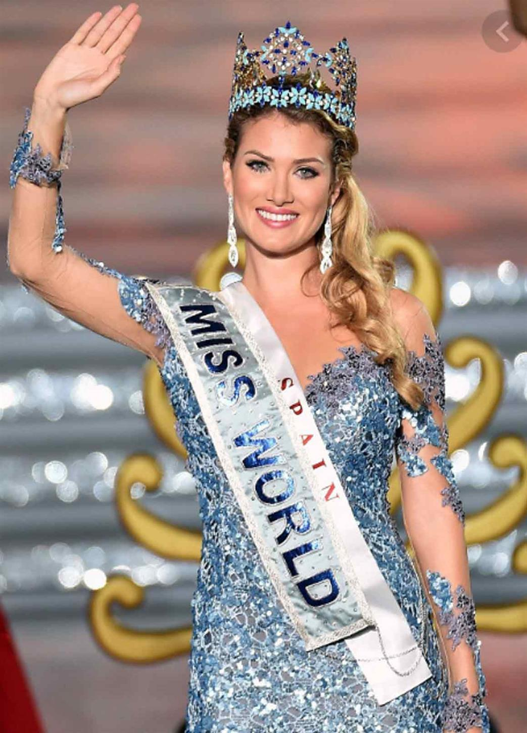Mireia Lalaguna from Spain was crowned Miss World 2015
