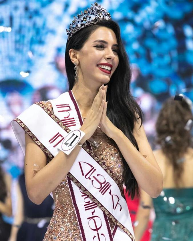 Beauty Talks with Miss World Armenia 2018 Arena Zeynalian