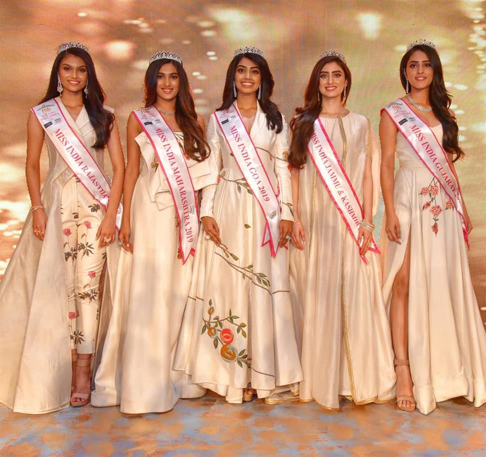 Femina Miss India West 2019 State winners announced
