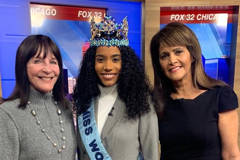 Miss World 2019 Toni-Ann Singh wins hearts in Chicago, USA