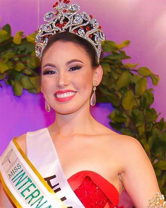 Ximena Huala is Miss International Chile 2019