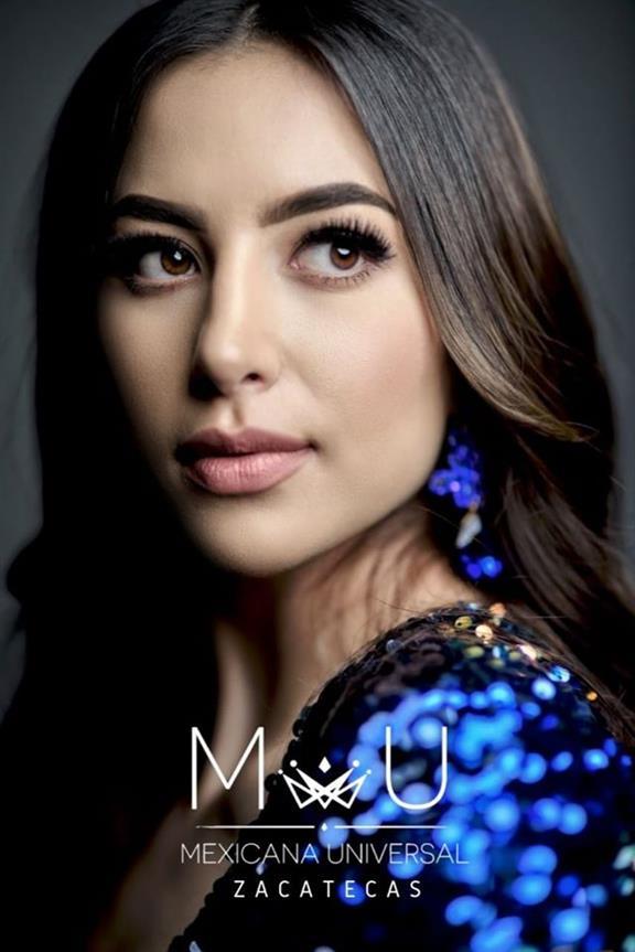 Alejandra Caldera Winner Mexicana Universal Zacatecas 2019
