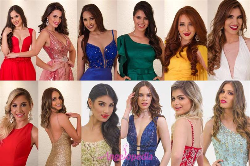 Reinas de Belleza del Paraguay 2018 Meet the Contestants