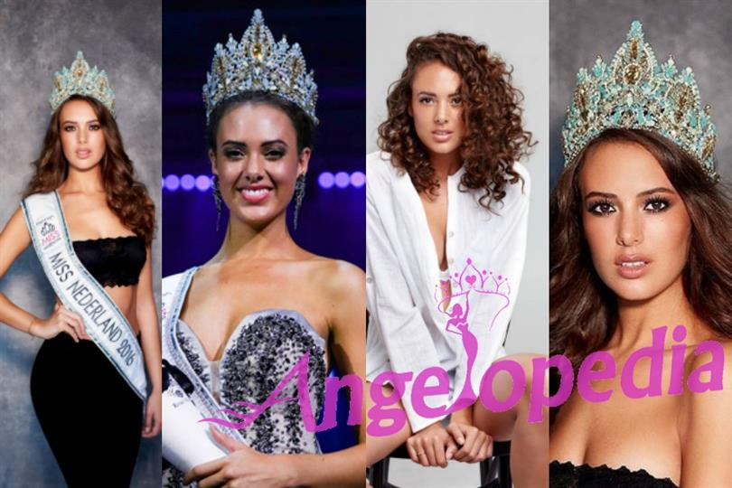 Zoey Ivory of Netherlands vying for the title of Miss Universe 2016