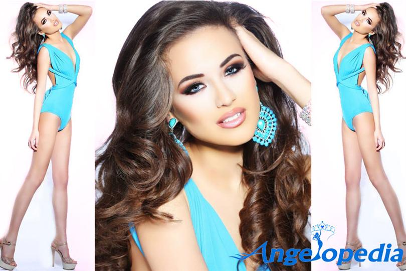 Denisa Vysnovska Miss Universe SR 2015