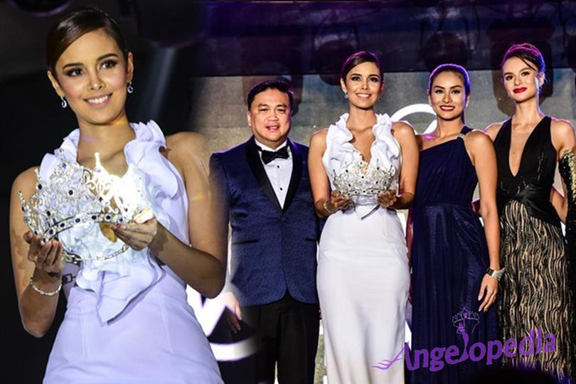 Megan Young presents the new Miss World Philippines Crown