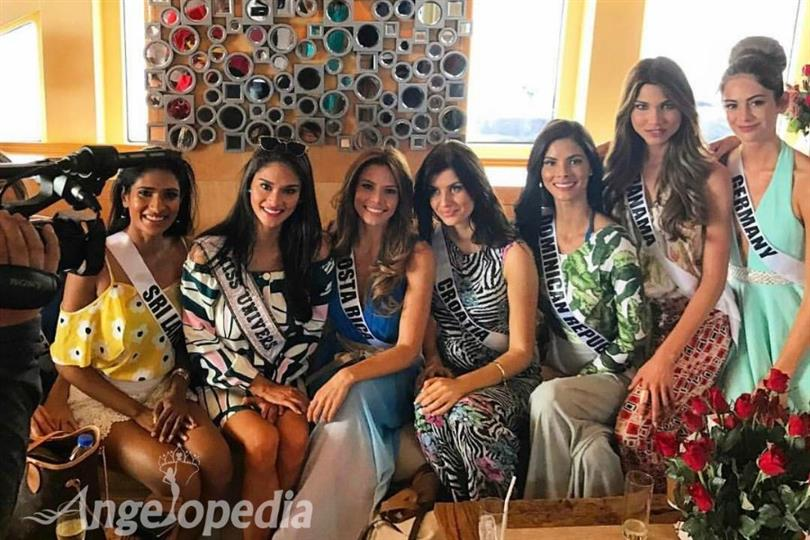 Miss Universe 2016 delegates falling sick before the finale