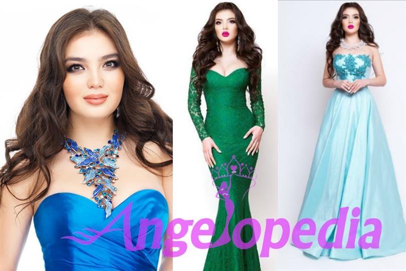 Darina Kulsitova of Kazakhstan vying for the title of Miss Universe 2016
