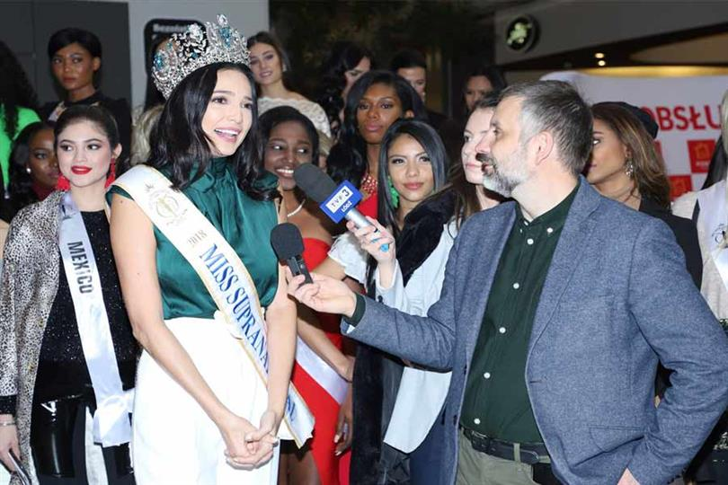 Press Conference at Port Lodz prior to the event of Miss Supranational 2019