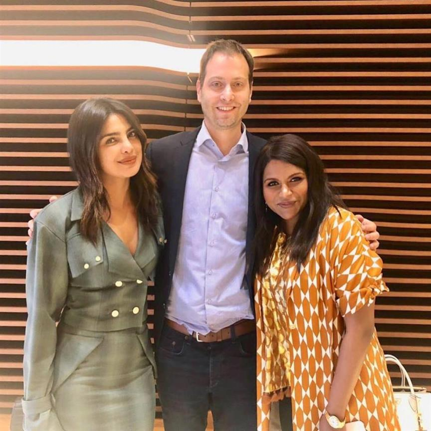 Priyanka Chopra collaborates with Mindy Kaling and Dan Goor for a wedding comedy film