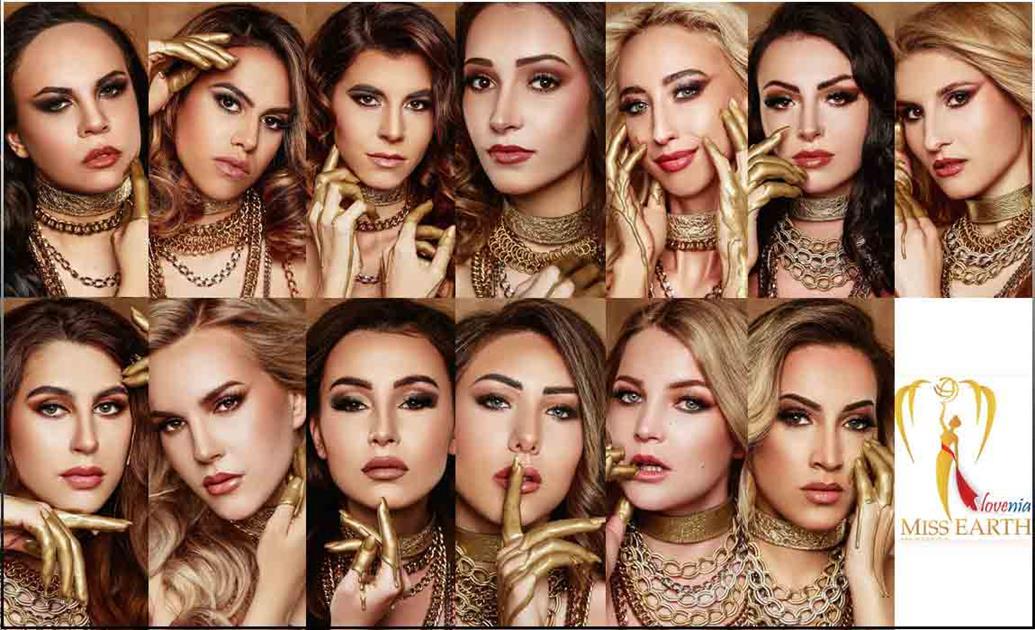 Miss Earth Slovenia 2021 Meet the contestants