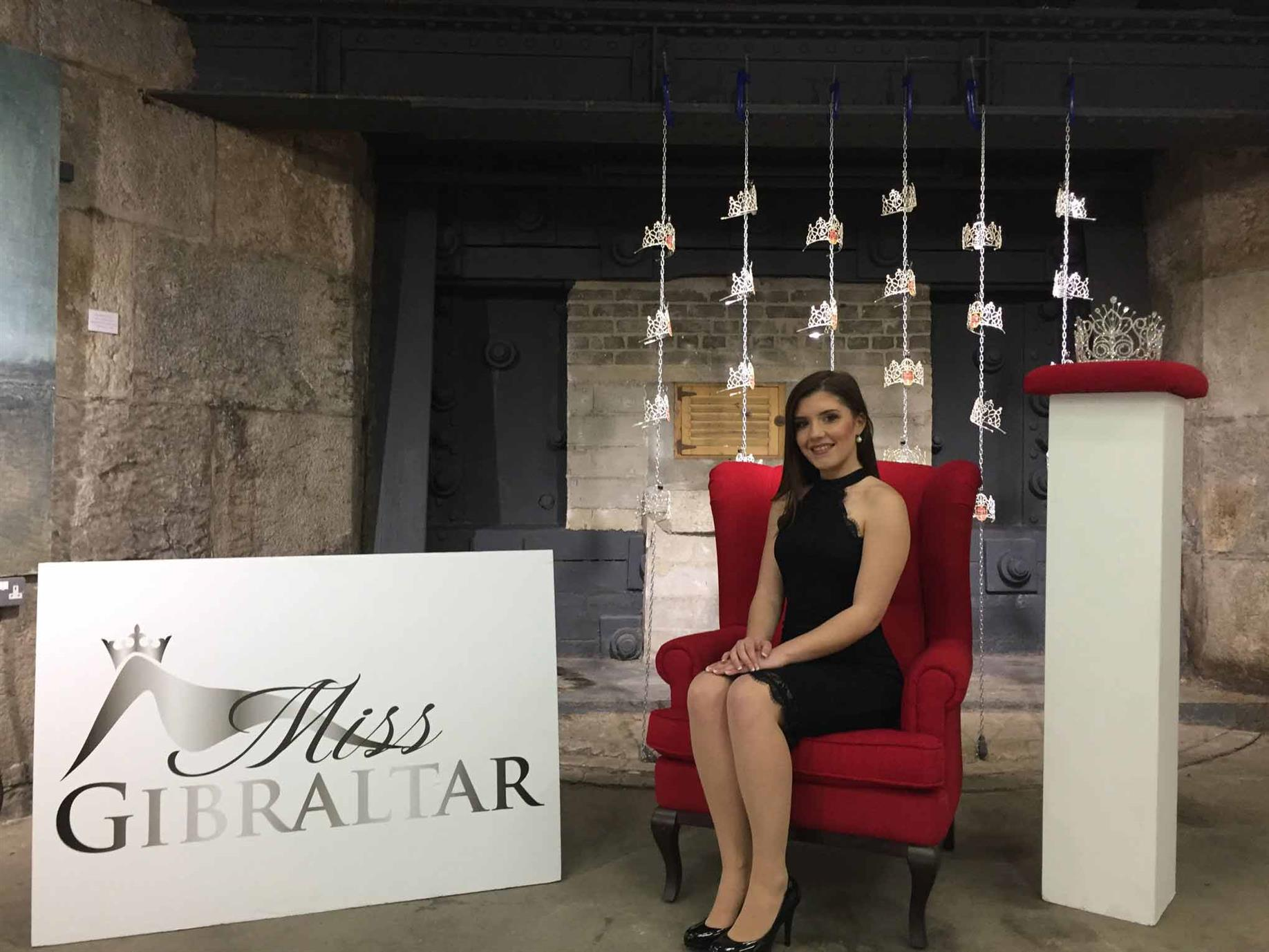Miss Gibraltar 2018 finalist Lilly Gomez