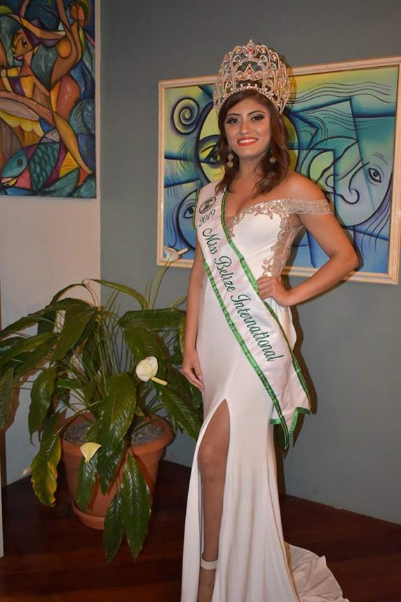 Beauty Talks with Miss International Belize 2019 Selena Urias