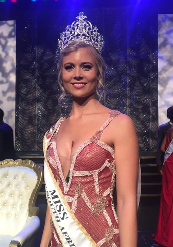 Nicole Middleton crowned Miss International South Africa 2019